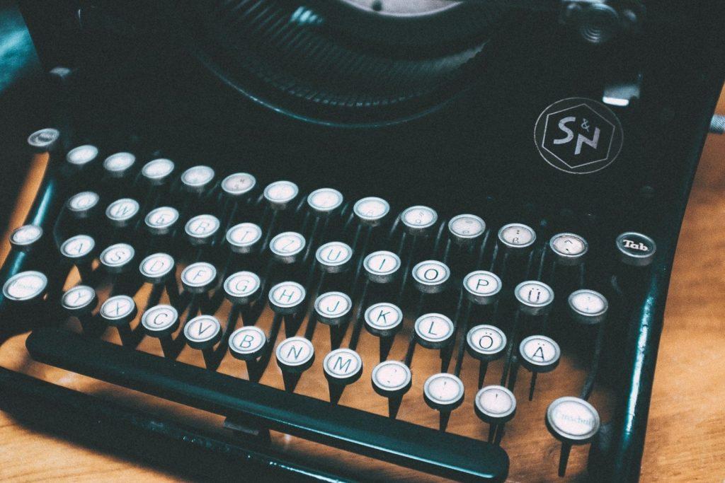 Blog Voxity machine à écrire