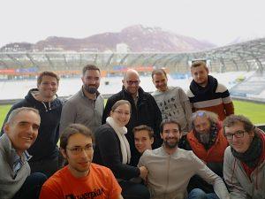 Equipe Voxity stade des alpes