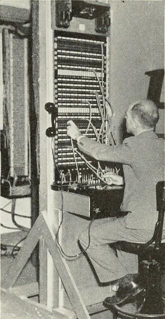 Standard téléphonique vieux